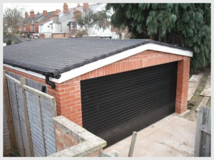 garage after rebuild - Tilehurst