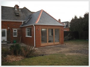 single storey extension after - Basildon